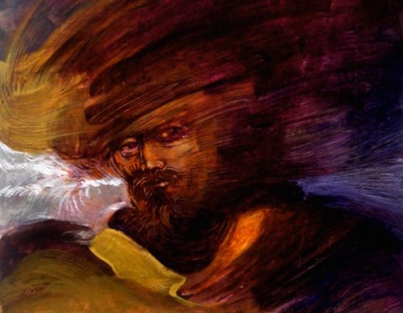 Corsario, a privateer, by artist Mauricio Garcia Vega