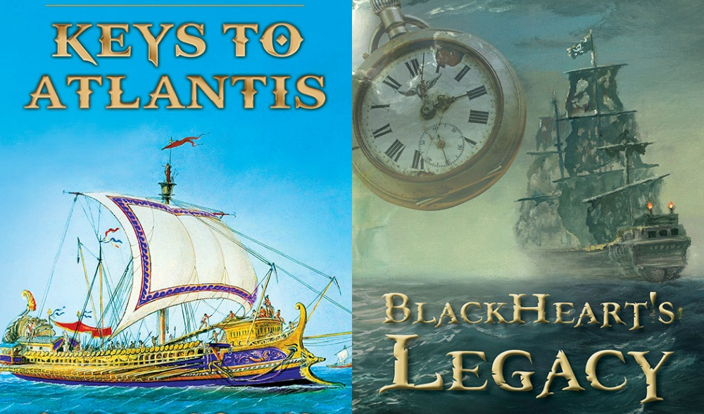 goodreads giveaway - keys to atlantis and blackheart's legacy